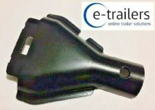 ALKO TYPE TRAILER BRAKE CABLE BACK PLATE RETAINING HALF SHROUD SHELL COVER